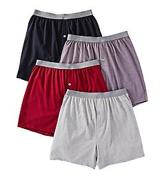 Fruit Of The Loom Premium Assorted Knit Boxers - 4 Pack JC4P722