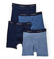 Hanes Platinum Premium Boxer Briefs -  4 Pack Y692