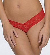 Hanky Panky After Midnight Lace Crotchless Low Rise Thong 481001