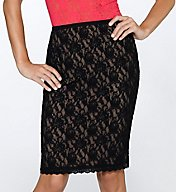 Hanky Panky Signature Lace 23 Inch Lined Pencil Skirt 48S231