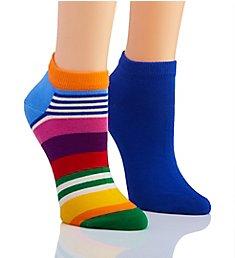 Happy Socks Stripe Low Sock - 2 Pack MST02