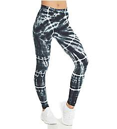Hard Tail High Rise Printed Ankle Legging W-566SU