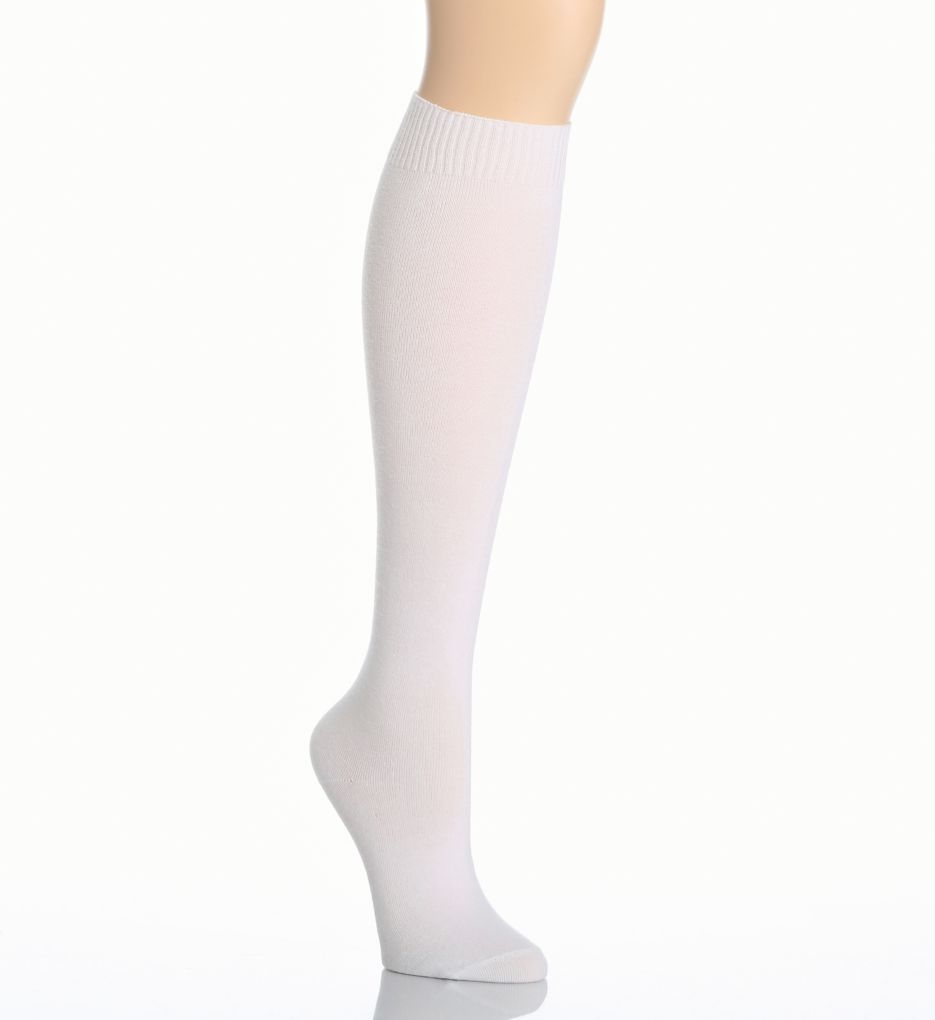Hue Flat Knit Knee Sock 5573