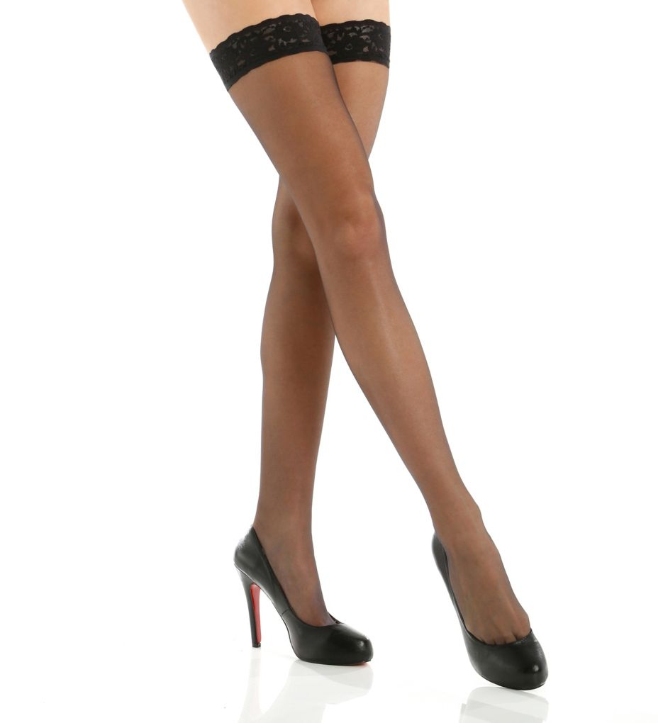 Hue French Lace Thigh-Hi 5971