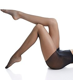 Hue Backseam Control Top Pantyhose 6038