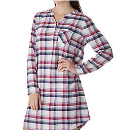 Jockey Sleepwear Plaid Sleepshirt 3331310