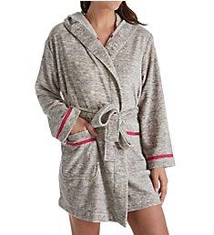 Kate Spade New York Wink Wink Plush Fleece Short Robe 5051460