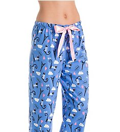 KayAnna Paris Cat Flannel Pajama Pant F20021