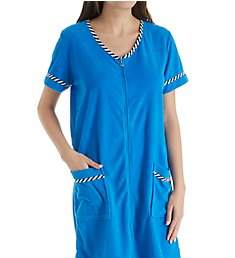 KayAnna Terry Front Zip Robe G04056