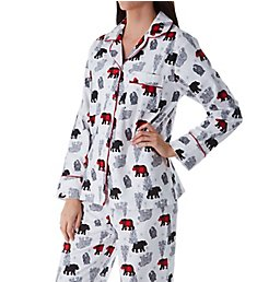 KayAnna Multibears Flannel Pajama Set M15175