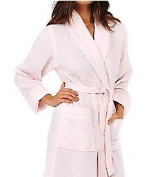 KayAnna Waffle Shawl Collar Spa Robe S01156
