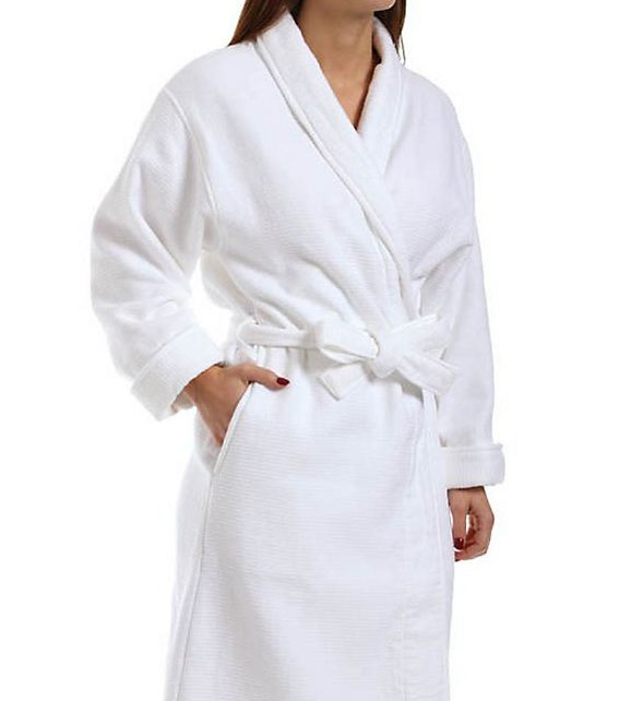 KayAnna Double Faced Waffle Terry Robe S01763
