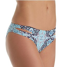 L Space Bali Hi Estella Full Cut Swim Bottom BH32F18