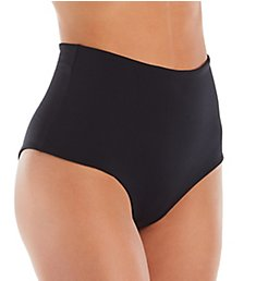 L Space Solid Portia High Waist Swim Bottom LSPOB17