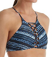 L Space Midnight Caravan Nikki High Neck Swim Top MCNKT17