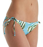 L Space Sumatra Palm Tie Side Brief Swim Bottom SPLIF17