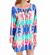 La Blanca Island Tunic with Side Slits LB6BP55