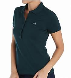 Lacoste Short Sleeve 5 Button Stretch Pique Polo PF6949-51