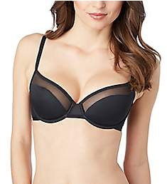 Le Mystere Shine and Sheer Unlined Bra 4458