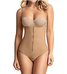 Leonisa PowerSlim Strapless Body Shaper with Thong 018677N