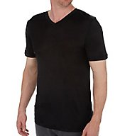 Magic Silk 100% Silk Knit V-Neck T-Shirt 2406