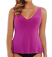 MagicSuit Solids Vanessa Underwire Tankini Swim Top 6000103