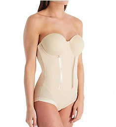 Maidenform Easy Up Strapless Firm Control Bodybriefer 1256