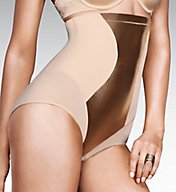 Maidenform Easy Up Hi Waist Brief 1454