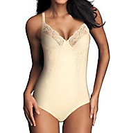 Maidenform Pretty Shapewear Embroidered Unlined Bodybriefer 1456