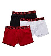 Malebasics Cotton Stretch Trunks - 3 Pack MBT01