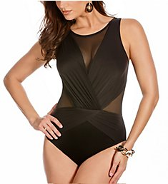 Miraclesuit DD-Cup Solid Palma Wireless One Piece Swimsuit 3485DD
