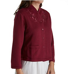 Miss Elaine Quilt-In-Knit Bed Jacket 806907