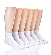 Nautica Solid Super Soft Basic Low Cut Socks - 6 Pack 171LC01