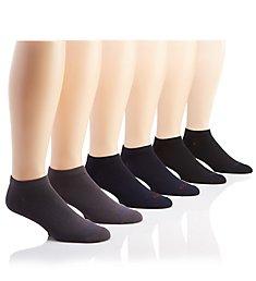 Nautica Super Soft Low Cut Socks - 6 Pack 183LC21