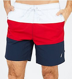 Nautica Tall Man Triblock Swim Trunk F81007T