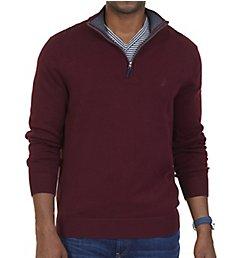 Nautica Tall Man Pima Cotton 1/4 Zip Sweater N73105T