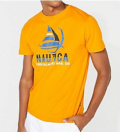 Nautica Tall Man Keep Calm Crew Neck T-Shirt Q01106T