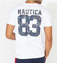 Nautica Tall Man Big 83 Crew Neck T-Shirt Q01110T