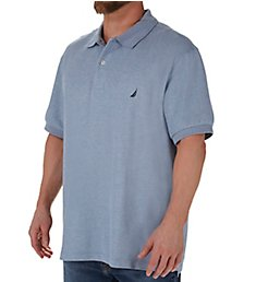 Nautica Tall Man Anchor Solid Deck Polo Shirt Z21050T