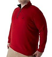 Nautica Tall Man Fleece Long Sleeve 1/4 Zip Pullover Z63190T
