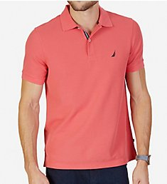 Nautica Tall Man Anchor Solid Deck Polo Shirt Z81101T