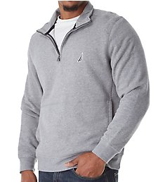 Nautica Tall Man Fleece Long Sleeve 1/4 Zip Pullover Z83172T