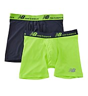 New Balance Dry And Fresh Performance 6 Boxer Briefs - 2 Pack NB1005