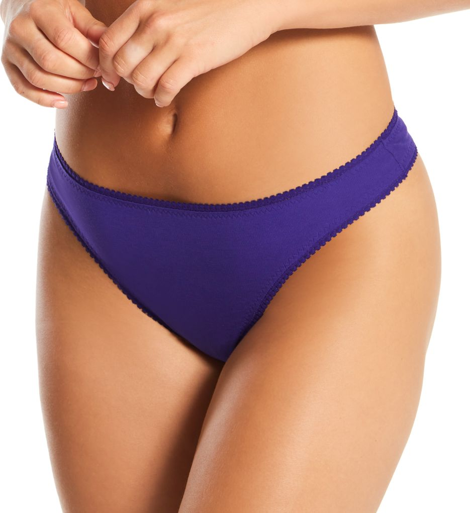 OnGossamer Cabana Cotton Hip-G Thong 1412