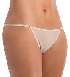 OnGossamer Mesh Model G-String Thong G2025