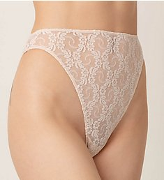 Only Hearts Stretch Lace High Cut Brief Panty 51662