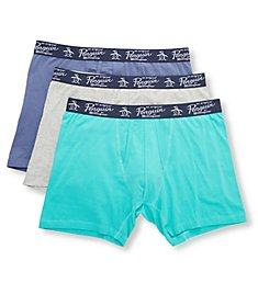 Original Penguin Cotton Stretch Boxer Briefs - 3 Pack RPM8232