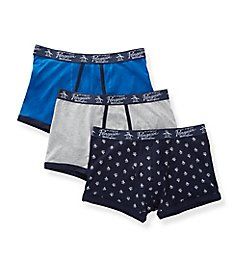 Original Penguin Cotton Stretch Trunks - 3 Pack RPM8330