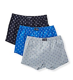 Original Penguin Cotton Woven Fashion Boxers - 3 Pack RPM8630