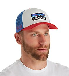 Patagonia P-6 Logo 100% Organic Cotton Trucker Hat 38017